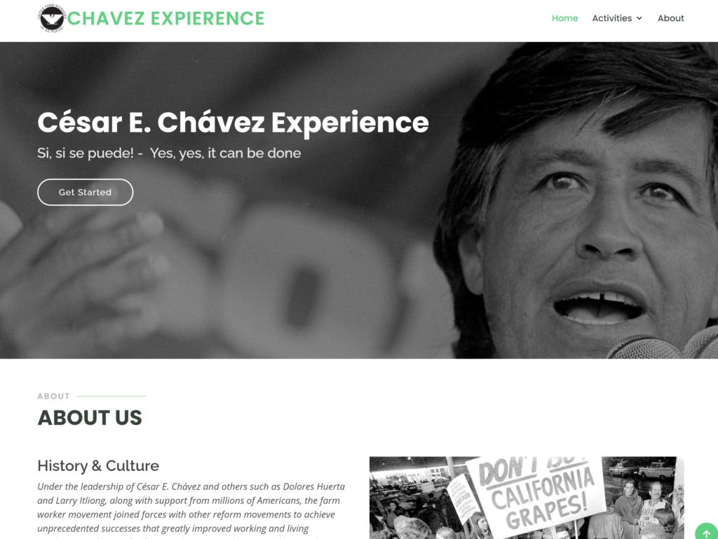 Introducing the César E. Chávez Experience